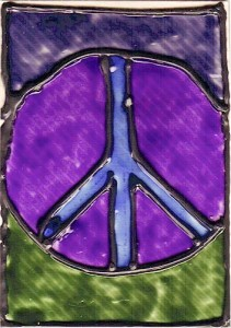 peace atc card